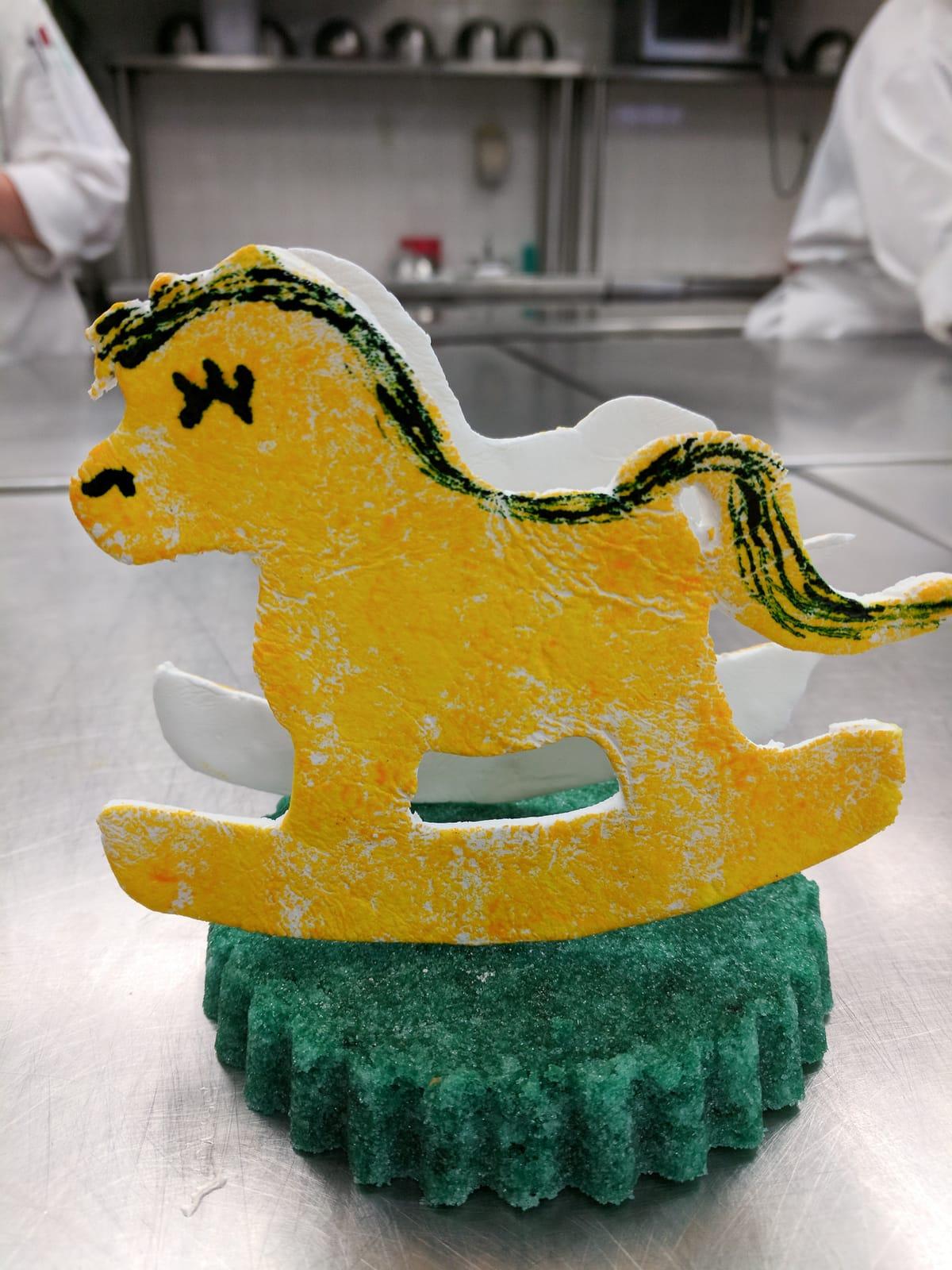 Pastillage rocking horse