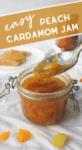 Peach Cardamom Jam
