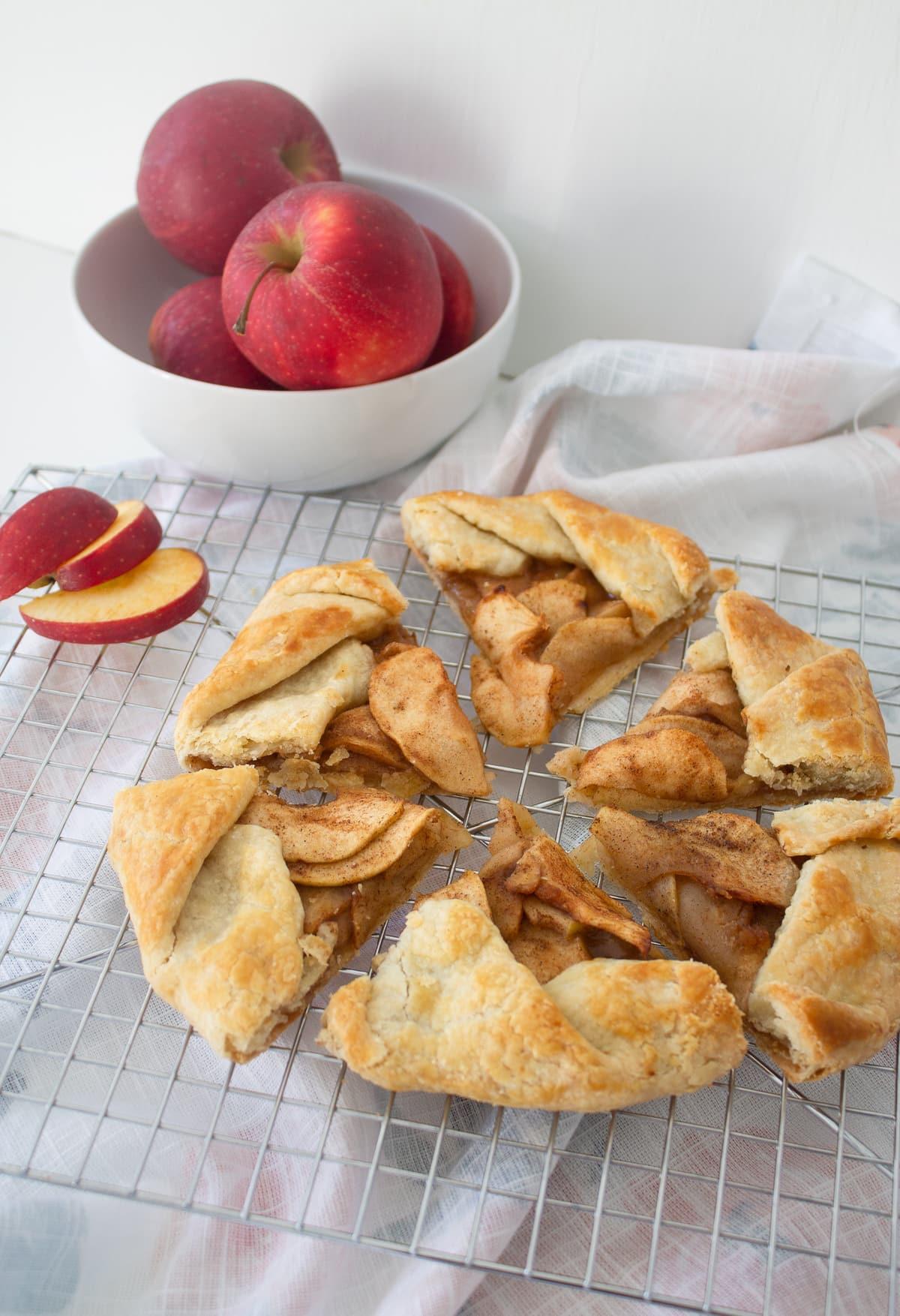 Apple Cardamom Galette
