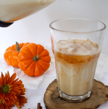 Homemade Pumpkin Cream Cold Brew