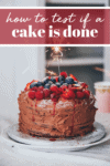 How to Test if a Cake is Done