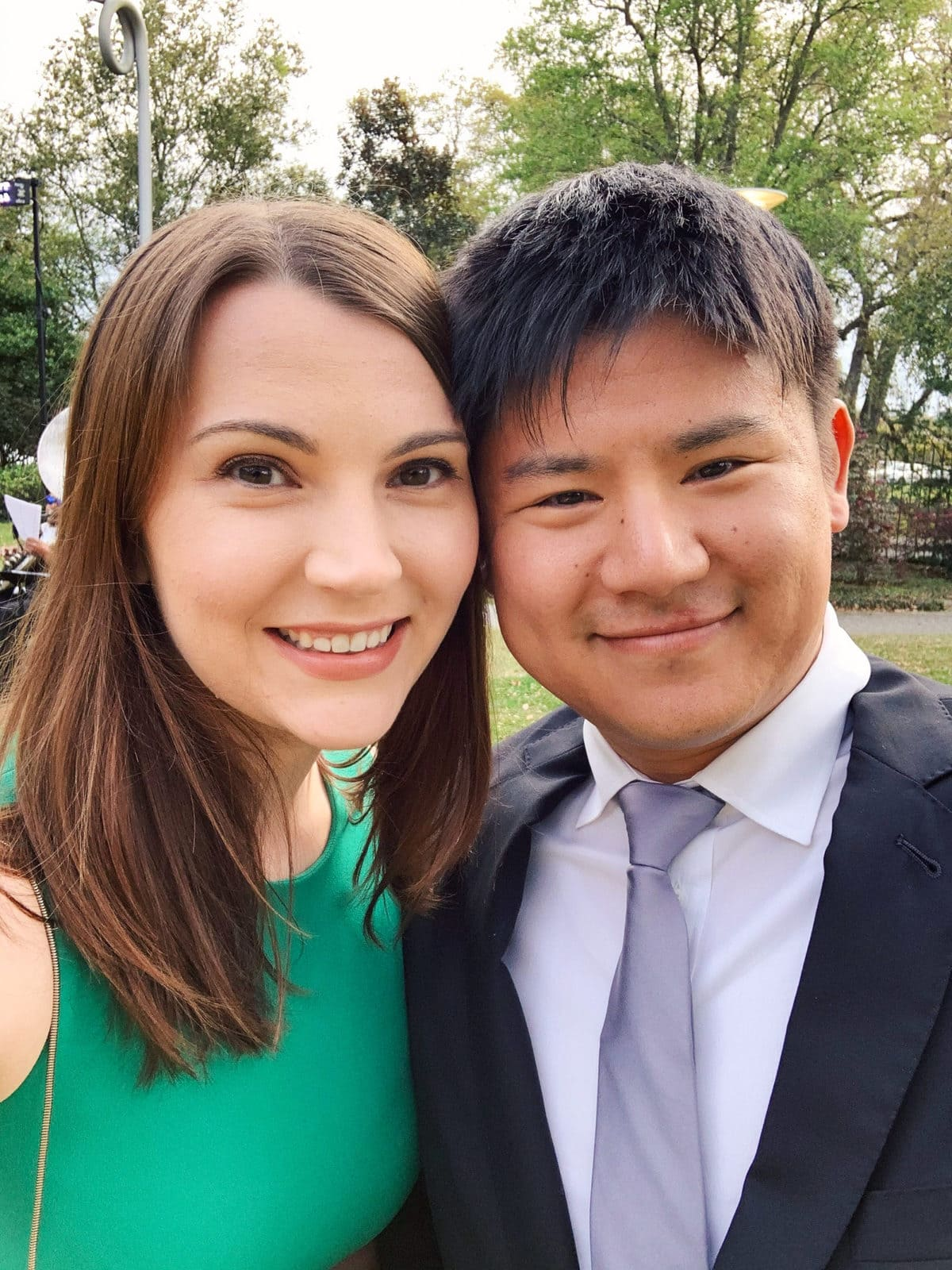 Leslie and Kyle at Wedding