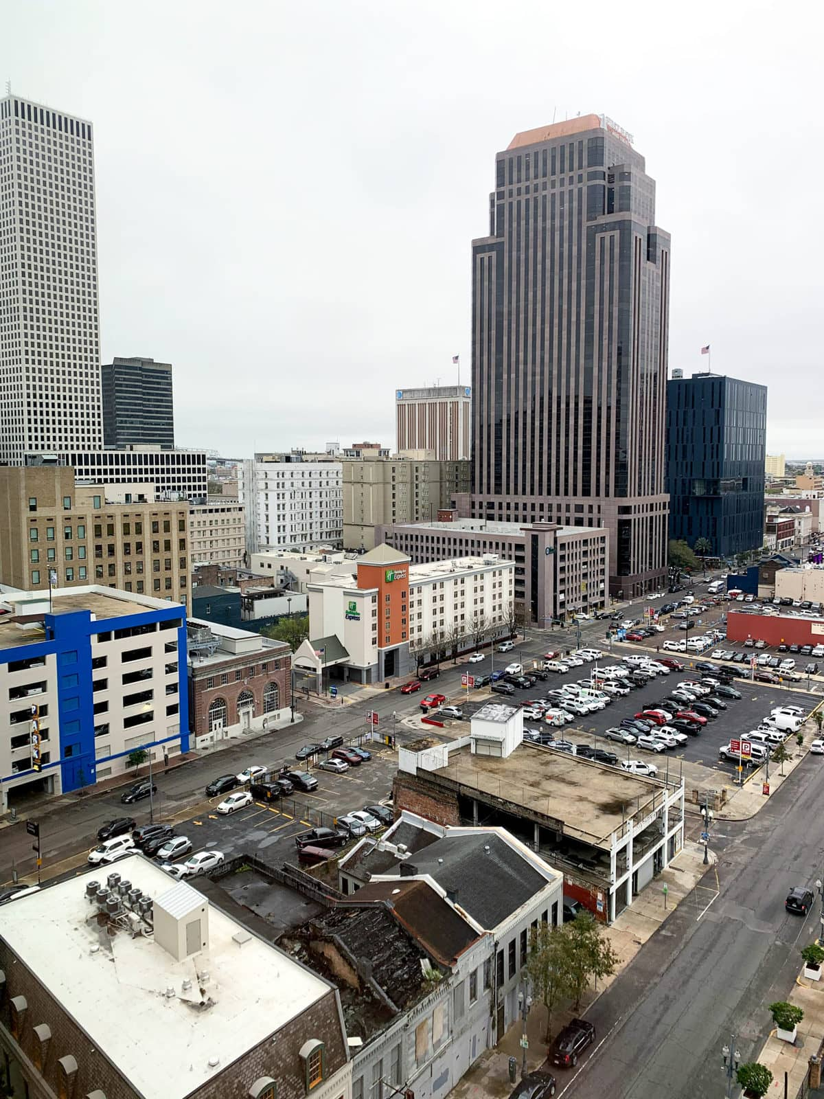 View from The Troubador Hotel in New Orleans