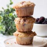 Blackberry Streusel Muffins