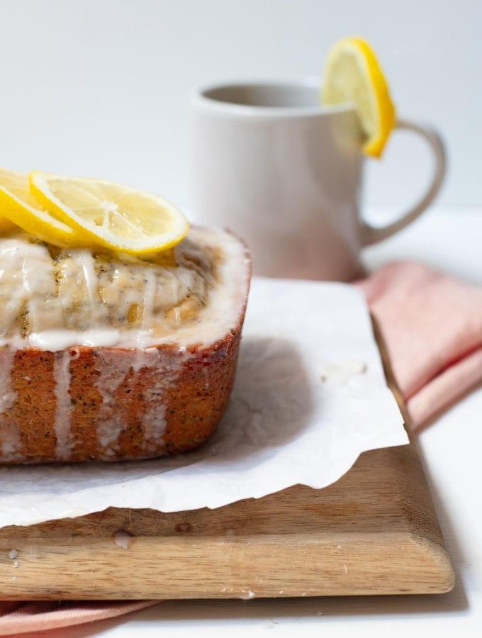 Earl Grey and Lemon Loaf Cake