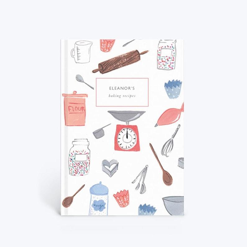 Customizable baking notebook