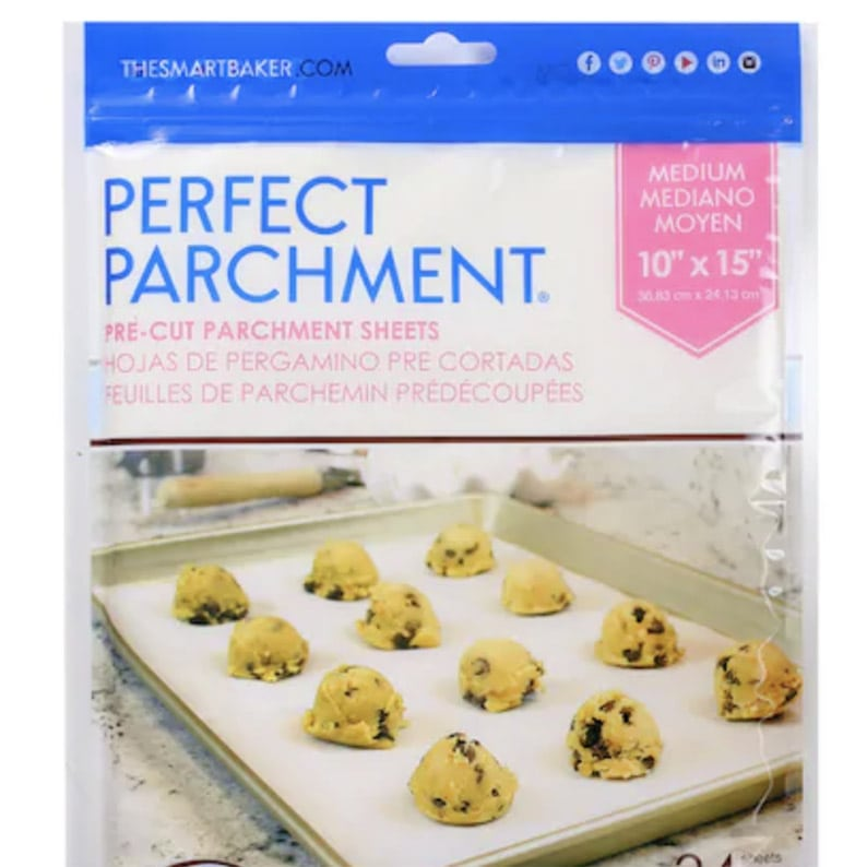 Package of perfect parchment sheets from Michael's